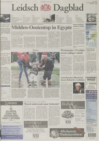 Leidsch Dagblad 2000-12-27