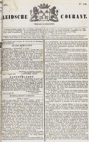 Leydse Courant 1871-08-04