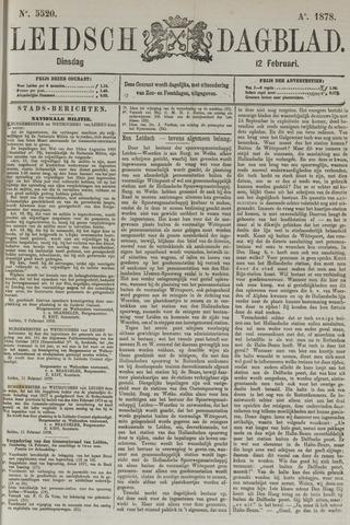 Leidsch Dagblad 1878-02-12