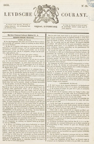 Leydse Courant 1855-02-23