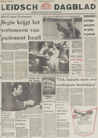 Leidsch Dagblad 1977-06-21
