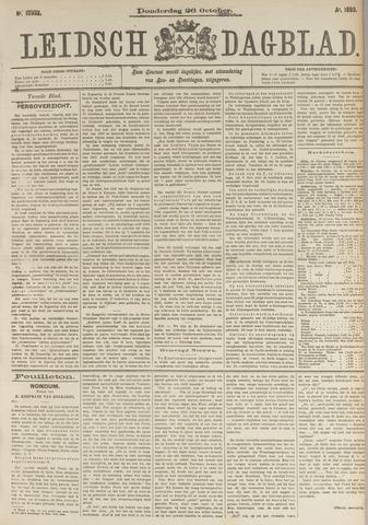 Leidsch Dagblad 1893-10-26