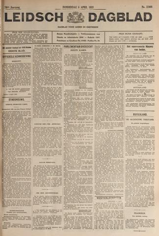 Leidsch Dagblad 1933-04-06