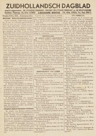 Zuidhollandsch Dagblad 1944-12-19