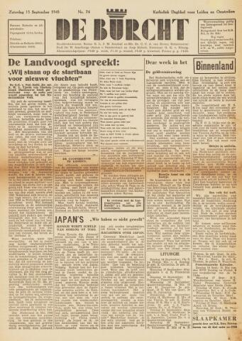 De Burcht 1945-09-15