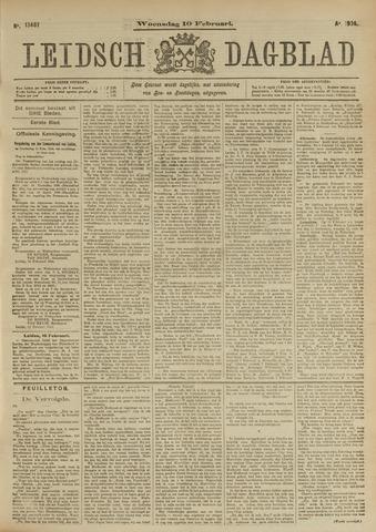 Leidsch Dagblad 1904-02-10