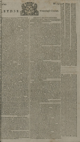 Leydse Courant 1745-11-03