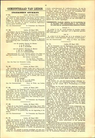 Handelingen van de Raad 1911-03-22