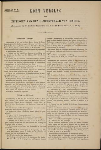 Handelingen van de Raad 1855-03-15