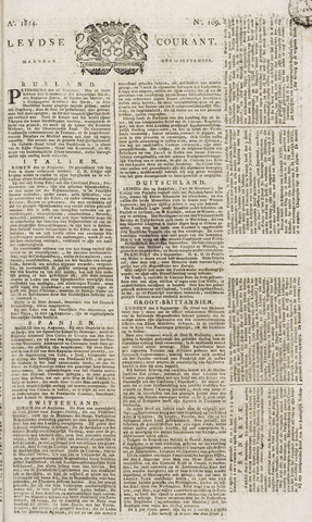 Leydse Courant 1814-09-12
