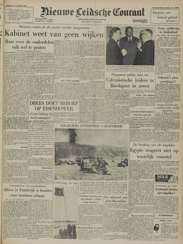 Nieuwe Leidsche Courant 1957-03-09