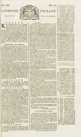 Leydse Courant 1826-12-11