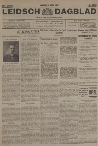 Leidsch Dagblad 1937-04-05