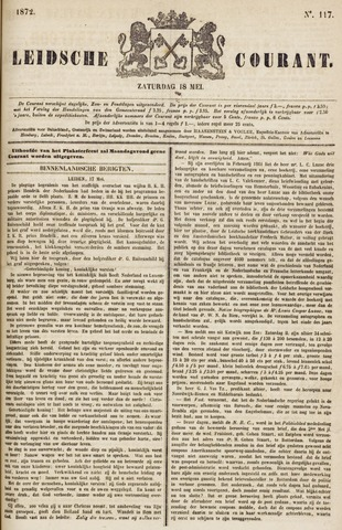 Leydse Courant 1872-05-18