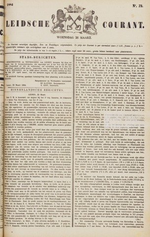 Leydse Courant 1884-03-26