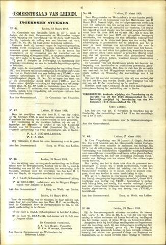 Handelingen van de Raad 1918-03-13