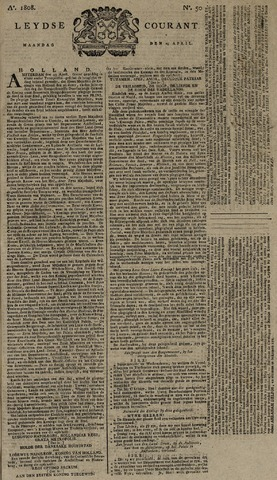 Leydse Courant 1808-04-25