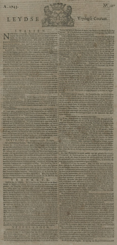 Leydse Courant 1743-09-06