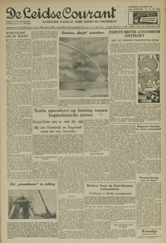 Leidse Courant 1952-10-04