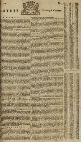 Leydse Courant 1751-06-28