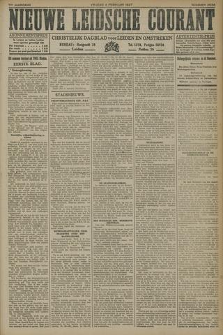 Nieuwe Leidsche Courant 1927-02-04