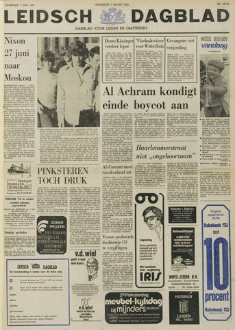Leidsch Dagblad 1974-06-01