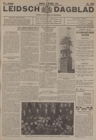 Leidsch Dagblad 1938-10-04