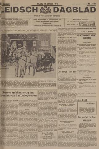Leidsch Dagblad 1940-01-19
