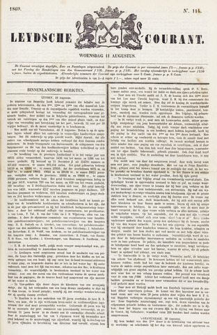 Leydse Courant 1869-08-11