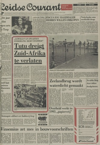Leidse Courant 1985-07-24