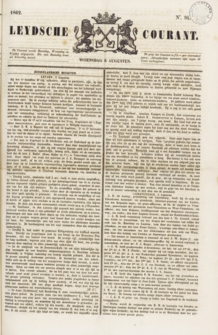 Leydse Courant 1862-08-06
