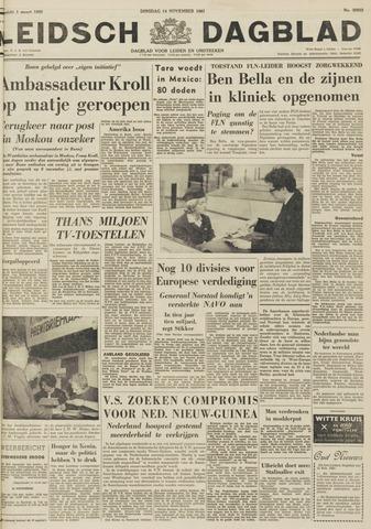 Leidsch Dagblad 1961-11-14