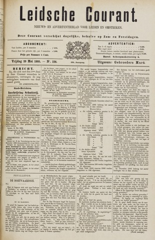 Leydse Courant 1885-05-29