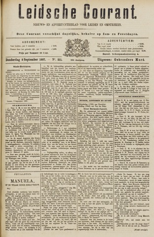 Leydse Courant 1887-09-08