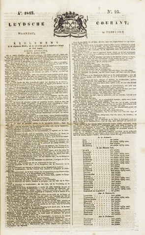 Leydse Courant 1843-02-27