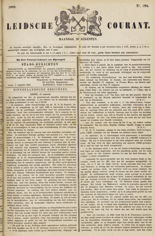 Leydse Courant 1883-08-20