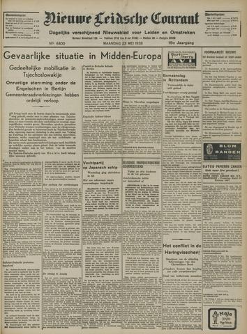 Nieuwe Leidsche Courant 1938-05-23