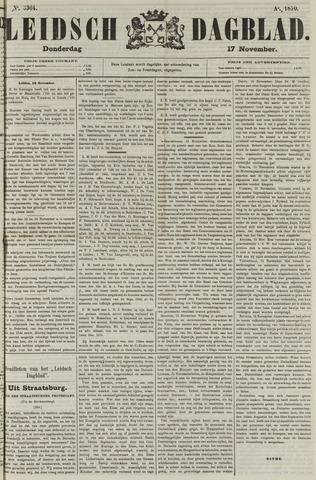 Leidsch Dagblad 1870-11-17