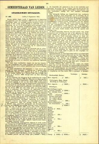 Handelingen van de Raad 1921-09-05