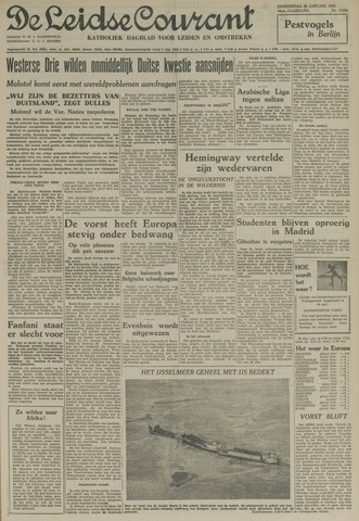 Leidse Courant 1954-01-28