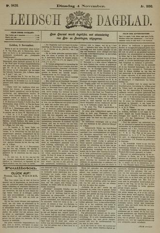 Leidsch Dagblad 1890-11-04