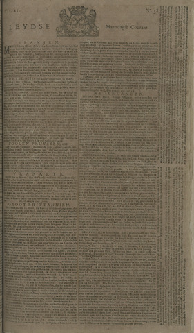 Leydse Courant 1745-03-29