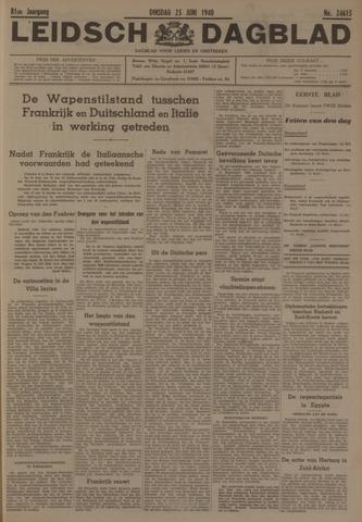 Leidsch Dagblad 1940-06-25
