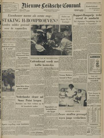 Nieuwe Leidsche Courant 1957-06-20