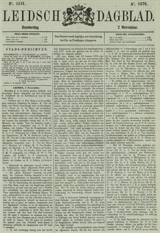 Leidsch Dagblad 1876-11-02