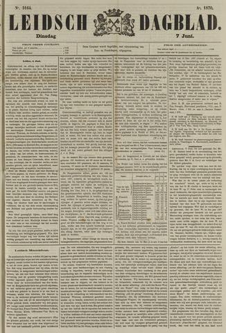 Leidsch Dagblad 1870-06-07