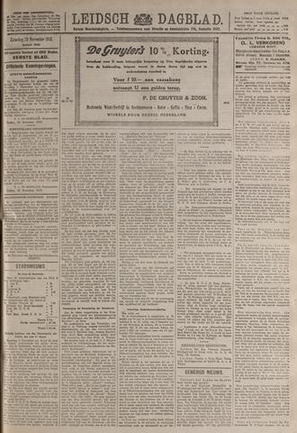 Leidsch Dagblad 1919-11-29