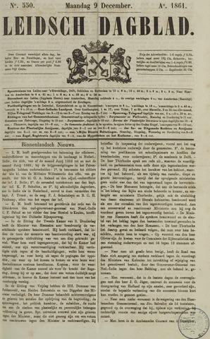 Leidsch Dagblad 1861-12-09