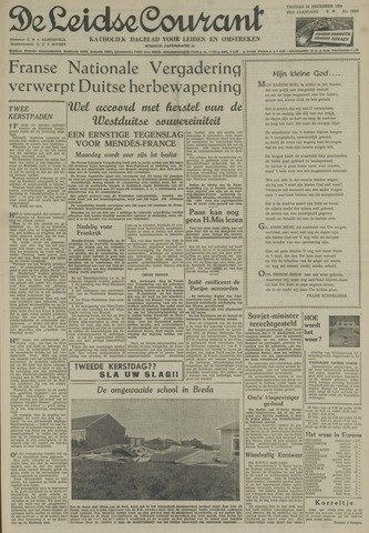 Leidse Courant 1954-12-24
