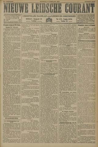 Nieuwe Leidsche Courant 1927-02-14